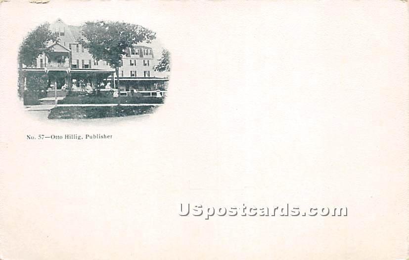 Residence - Parksville, New York NY Postcard