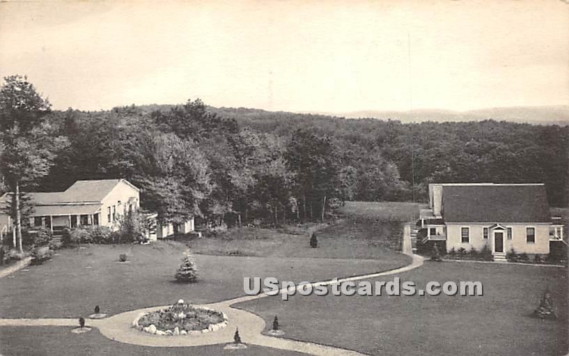 De Luxe Bungalows - Parksville, New York NY Postcard