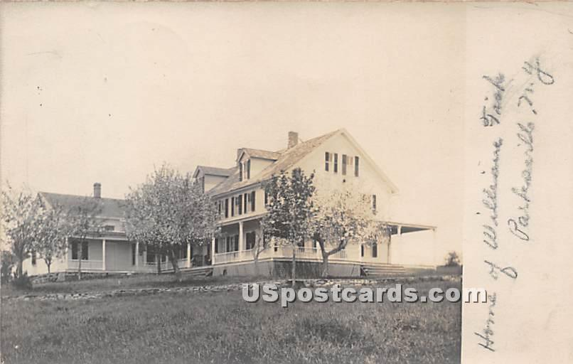 Home of William Fish - Parksville, New York NY Postcard