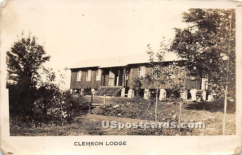 Clemson Lodge - Parksville, New York NY Postcard