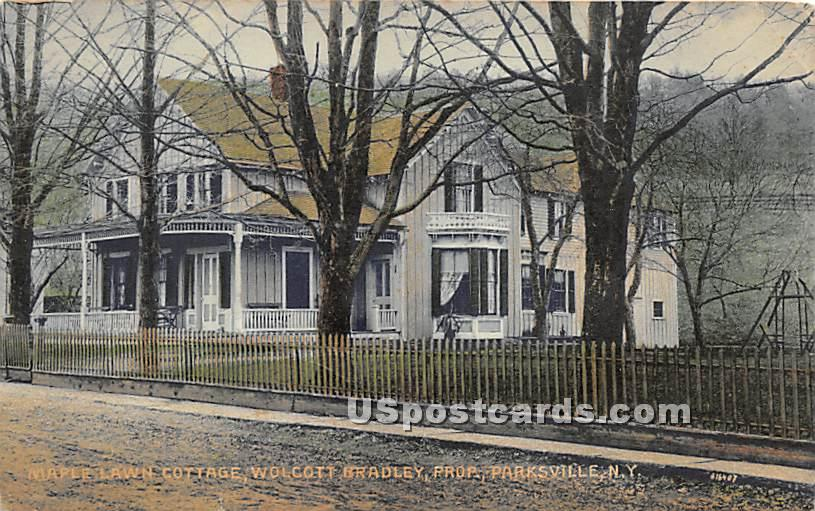 Maple Lawn Cottage - Parksville, New York NY Postcard