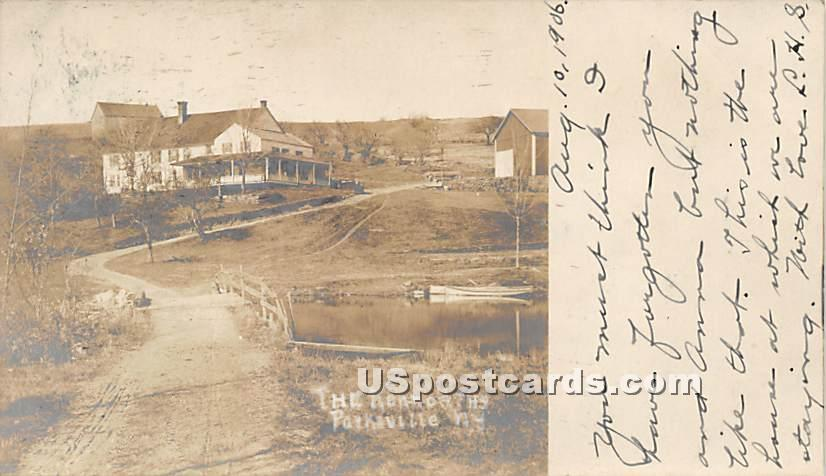 The Kenworths - Parksville, New York NY Postcard