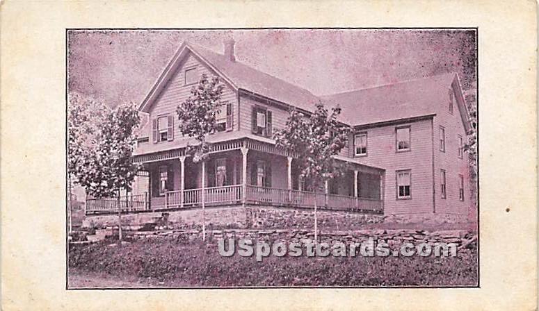 High View Farm House - Parksville, New York NY Postcard