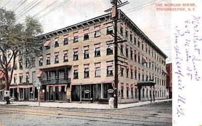 The Morgan House Poughkeepsie, New York Postcard