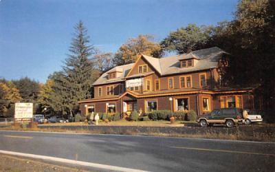 Cornucopia Restaurant & Inn Port Jervis, New York Postcard