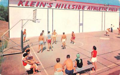 Klein's Hillside Athletic Field Parksville, New York Postcard