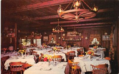 L'Augerge Bretonne Restaurant Francais Patterson, New York Postcard