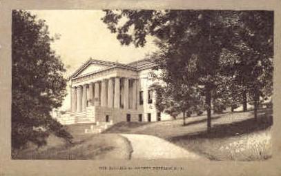 The Historical Society - Buffalo, New York NY Postcard