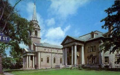 First Presbyterian Church - Utica, New York NY Postcard