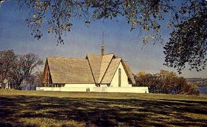 The Arthur H. Norton Chapel - Misc, New York NY Postcard