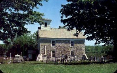 Old Fort herkimerChurch - New York NY Postcard