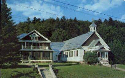 Saint Anthony's Church - Inlet, New York NY Postcard