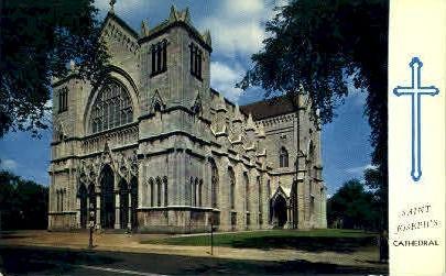 Saint Josephs Cathedral - Misc, New York NY Postcard