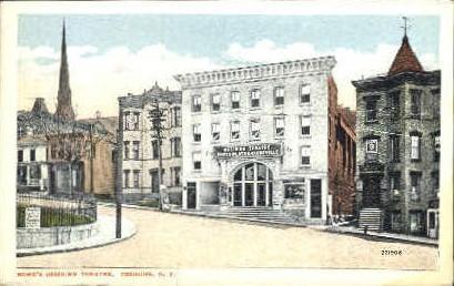 Rowe's Ossining Theatre - New York NY Postcard