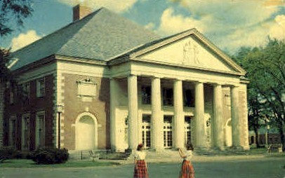 Hall of Springs - Misc, New York NY Postcard