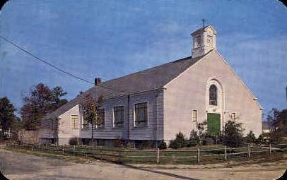 Saint Margaret's of Scotland R.C. Church - Long Island, New York NY Postcard