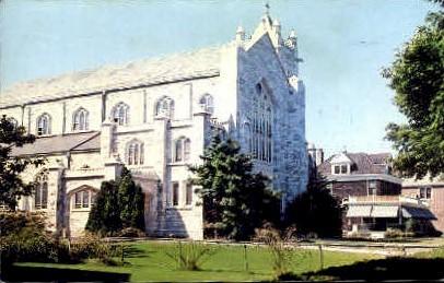 Church of The Sacred Hearts - Long Island, New York NY Postcard