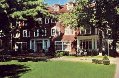 The Saint Elmo Hotel - Chautauqua, New York NY Postcard