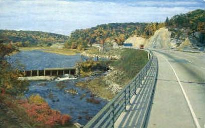 New York State Thruway - Misc Postcard
