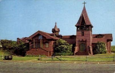 Saint Andrews's Dune Church - Long Island, New York NY Postcard
