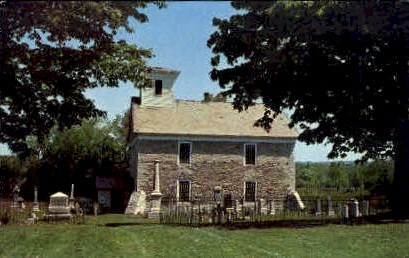 Old Fort herkimer Church - New York NY Postcard