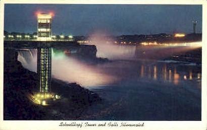 Niagara Falls - Misc, New York NY Postcard