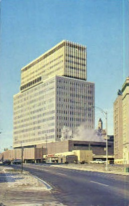 Midtown Plaza  - Rochester, New York NY Postcard