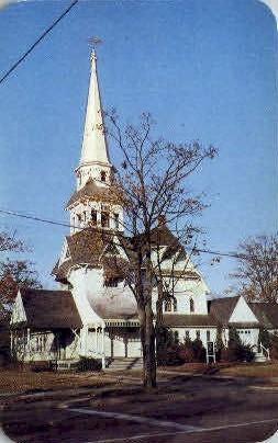 Presbyterian Church - Long Island, New York NY Postcard