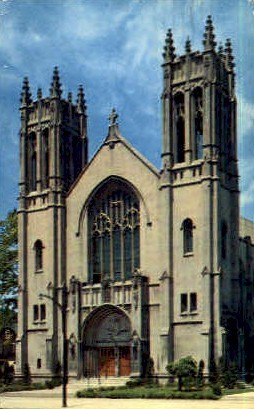 Sacred Heart Cathedral - Rochester, New York NY Postcard