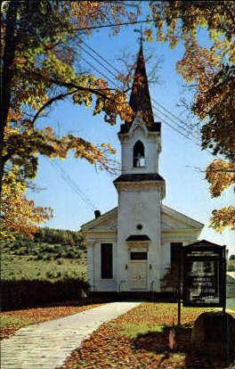 Grand Gorge Methodist Church - New York NY Postcard