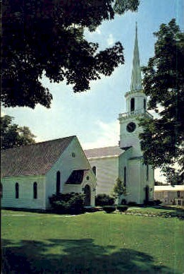 Presbyterian Church - Cooperstown, New York NY Postcard