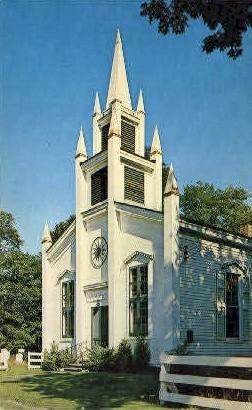 Old Church Rt 10 - Misc, New York NY Postcard