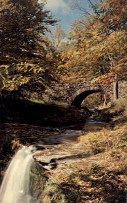 A Cool Retreat - Sherburne, New York NY Postcard
