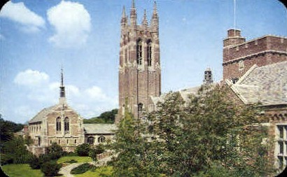 Colgate Rochester Divinity School - New York NY Postcard