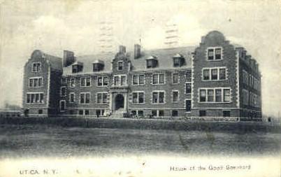 House of the Good Shepherd - Utica, New York NY Postcard