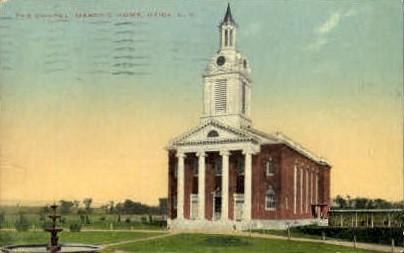 The Chapel Masonic Home - Utica, New York NY Postcard