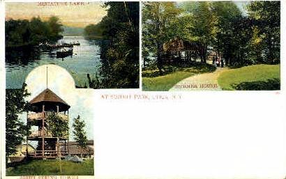 At Summit Park - Utica, New York NY Postcard