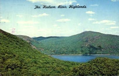 Hudson River Highlands - Misc, New York NY Postcard