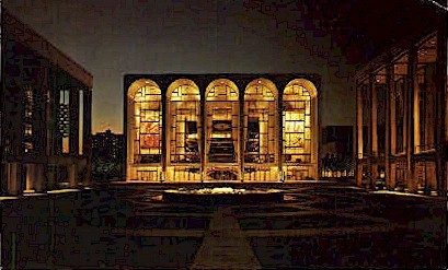 Metropolitan Opera House - Misc, New York NY Postcard