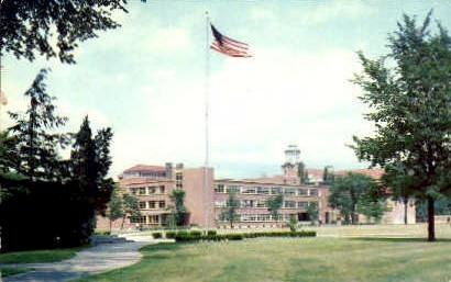William Lawyer Hinds Hall of Engineering - Syracuse, New York NY Postcard