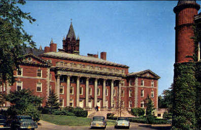 Maxwell Hall - Syracuse, New York NY Postcard