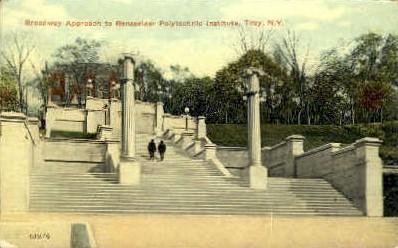 Rensselaer Polytech Institute - Troy, New York NY Postcard