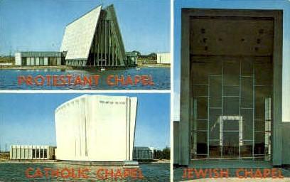 The Tri-Faith Chapels - Misc, New York NY Postcard