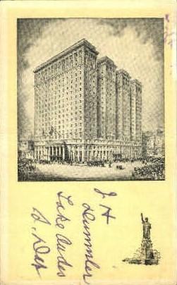 Hotel Pennsylvania - Buffalo, New York NY Postcard