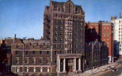 Buffalo Downtown Y.M.C.A. - New York NY Postcard