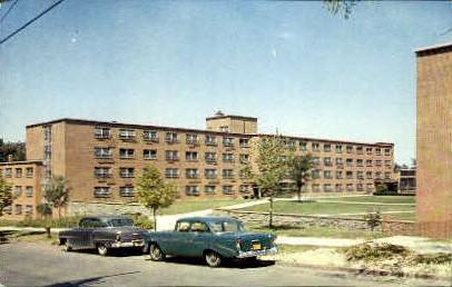 Thomas J. Watson Sr. Dormatory - Syracuse, New York NY Postcard