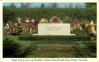 Grave of Roosavelt Family - Misc, New York NY Postcard