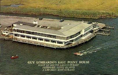 Guy Lombardos East Point House - Long Island, New York NY Postcard