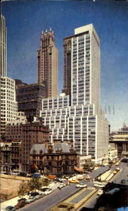 A Section of Park Avenue South - Misc, New York NY Postcard