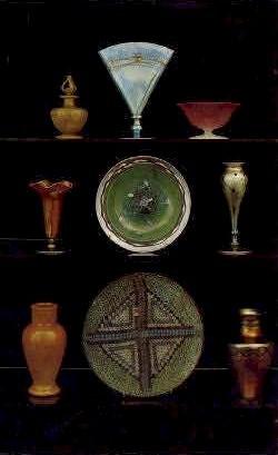Carder Steuben Glass - Corning, New York NY Postcard